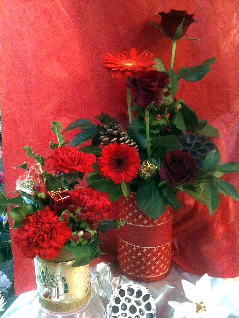 Ideas for Flowers at Christmas